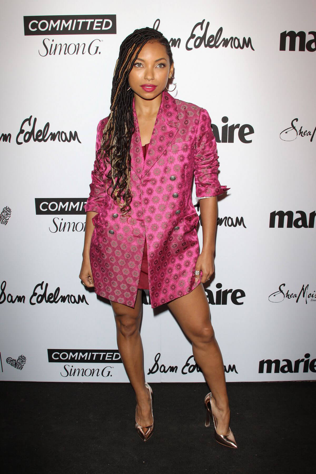 Logan Browning Stills at Marie Claire Fresh Faces Party in Los Angeles 2018/04/27 4