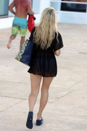 Lottie Moss Stills Out at a Beach in Ibiza 2018/05/23 4