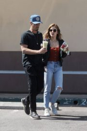 Lucy Hale and Riley Smith Stills Out in Studio City 2018/05/18 1