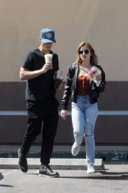 Lucy Hale and Riley Smith Stills Out in Studio City 2018/05/18 2