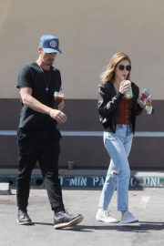 Lucy Hale and Riley Smith Stills Out in Studio City 2018/05/18 3