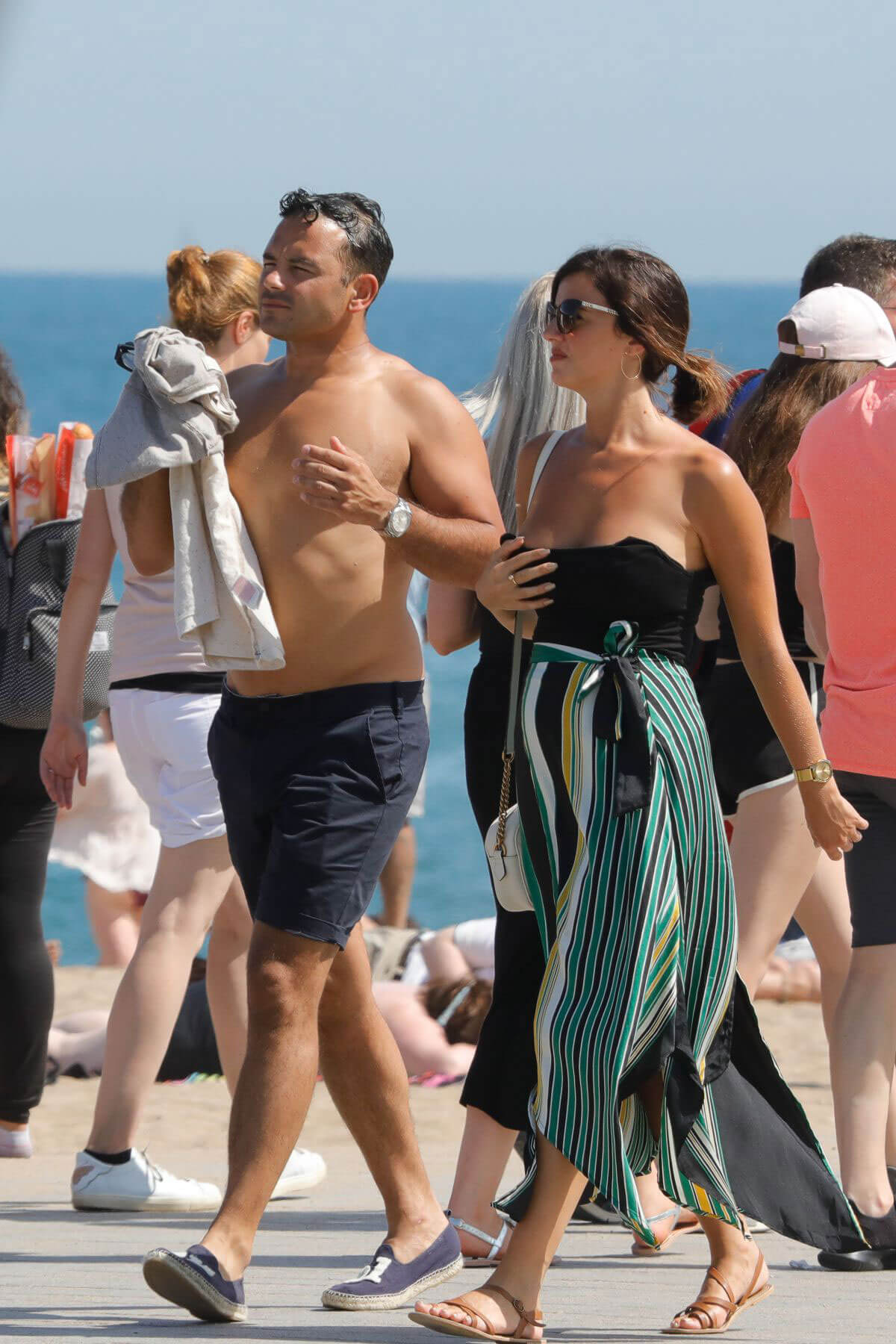 Lucy Mecklenburgh and Ryan Thomas Out in Spain 2018/05/25 3