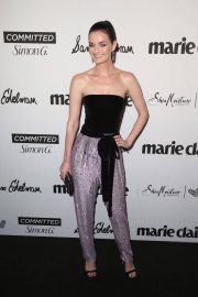 Lydia Hearst Stills at Marie Claire Fresh Faces Party in Los Angeles 2018/04/27 12