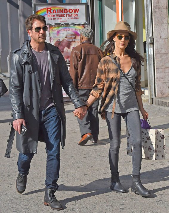 Maggie Q and Dylan McDermott Stills Out in New York 2018/05/14 6