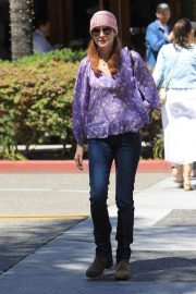 Marcia Cross Out for Lunch at La Scala in Beverly Hills 2018/05/25 5