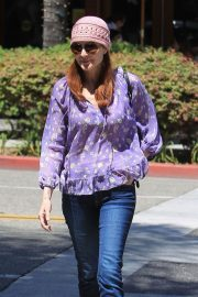 Marcia Cross Out for Lunch at La Scala in Beverly Hills 2018/05/25 10