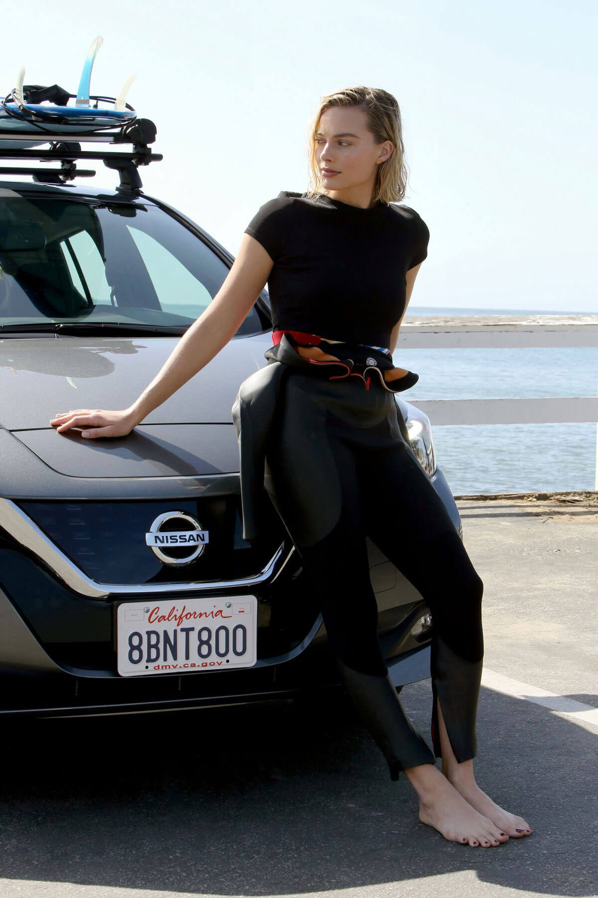Margot Robbie for Nissan Electric Vehicle Ambassador Campaign 2018 2