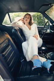 Maya Hawke Poses for The Hollywood Reporter, May 2018 Issue 5