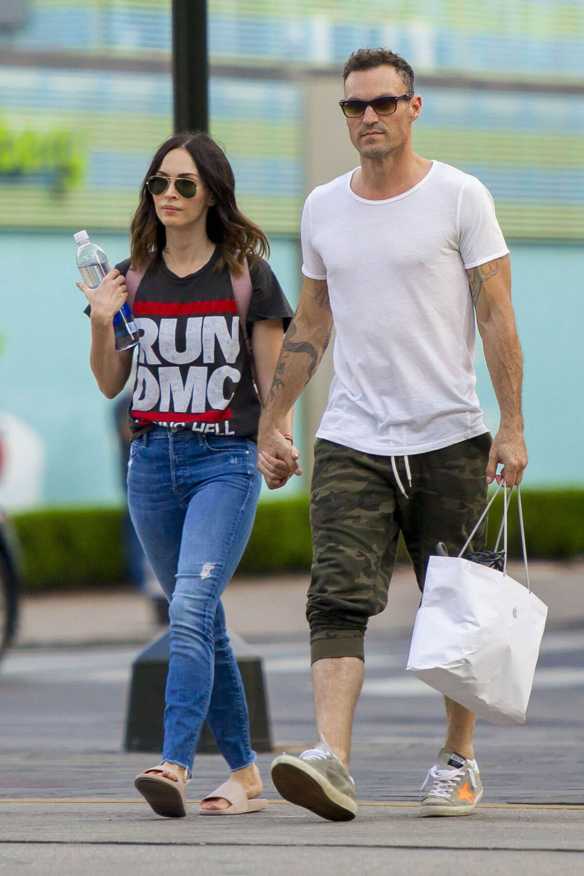 Megan Fox and Brian Austin Green Stills Out in New Orleans 2018/05/15 1