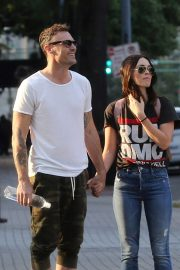 Megan Fox and Brian Austin Green Stills Out in New Orleans 2018/05/15 2