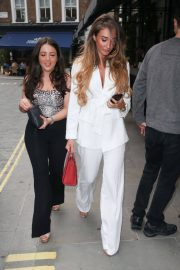 Megan McKenna and Michelle Heaton Night Out in London 2018/05/24 9