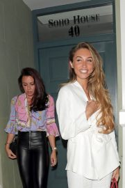 Megan McKenna and Michelle Heaton Night Out in London 2018/05/24 15