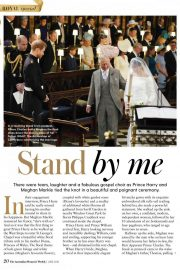 Meghan Markle and Prince Harry in Woman's Weekly, Australia June 2018 Issue 10