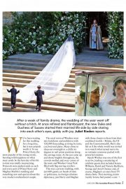 Meghan Markle and Prince Harry in Woman's Weekly, Australia June 2018 Issue 21
