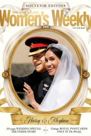 Meghan Markle and Prince Harry in Woman's Weekly, Australia June 2018 Issue 25