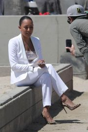 Melanie Brown at Today Show Hosted by Kathie Gifford & Hoda at Venice Beach 2018/05/25 1