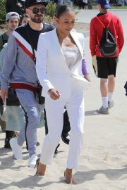 Melanie Brown at Today Show Hosted by Kathie Gifford & Hoda at Venice Beach 2018/05/25 2