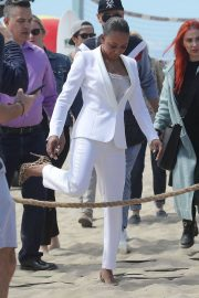 Melanie Brown at Today Show Hosted by Kathie Gifford & Hoda at Venice Beach 2018/05/25 4