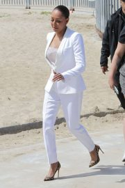 Melanie Brown at Today Show Hosted by Kathie Gifford & Hoda at Venice Beach 2018/05/25 8