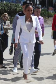 Melanie Brown at Today Show Hosted by Kathie Gifford & Hoda at Venice Beach 2018/05/25 12