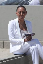 Melanie Brown at Today Show Hosted by Kathie Gifford & Hoda at Venice Beach 2018/05/25 16