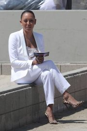 Melanie Brown at Today Show Hosted by Kathie Gifford & Hoda at Venice Beach 2018/05/25 18