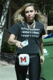 Miley Cyrus Stills Out Shopping in Studio City 2018/05/16 2