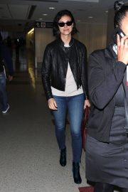 Morena Baccarin Stills at LAX Airport in Los Angeles 2018/05/17 4