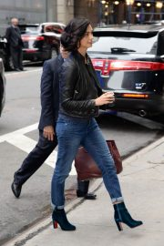 Morena Baccarin Stills in Jeans Out in New York 2018/05/16 1