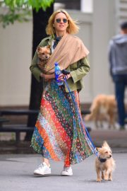 Naomi Watts Stills Out with Her Dogs in New York 2018/05/17 10