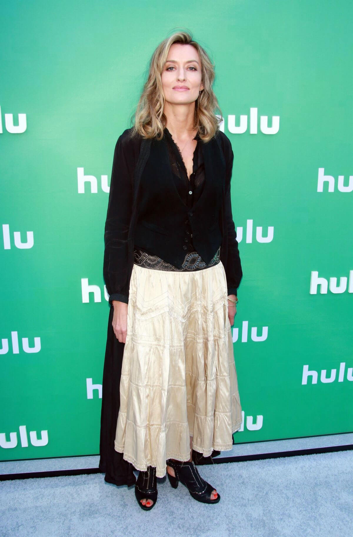 Natascha McElhone Stills at Hulu Upfront Presentation in New York 2018/05/02 12