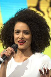 Nathalie Emmanuel at HBO Panel at Comic-con in Buenos Aires 2018/05/27 1