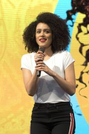 Nathalie Emmanuel at HBO Panel at Comic-con in Buenos Aires 2018/05/27 3
