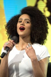 Nathalie Emmanuel at HBO Panel at Comic-con in Buenos Aires 2018/05/27 9