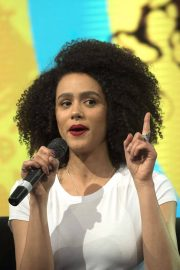 Nathalie Emmanuel at HBO Panel at Comic-con in Buenos Aires 2018/05/27 10
