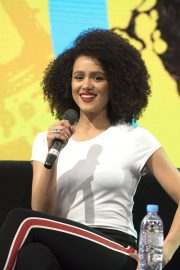 Nathalie Emmanuel at HBO Panel at Comic-con in Buenos Aires 2018/05/27 11