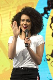 Nathalie Emmanuel at HBO Panel at Comic-con in Buenos Aires 2018/05/27 12