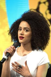 Nathalie Emmanuel at HBO Panel at Comic-con in Buenos Aires 2018/05/27 14
