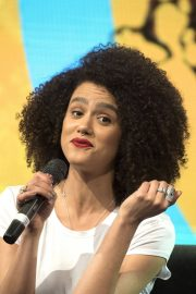 Nathalie Emmanuel at HBO Panel at Comic-con in Buenos Aires 2018/05/27 15