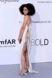 Nathalie Emmanuel Stills at Amfar's 25th Cinema Against Aids Gala at Cannes Film Festival 2018/05/17 1