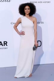 Nathalie Emmanuel Stills at Amfar's 25th Cinema Against Aids Gala at Cannes Film Festival 2018/05/17 5
