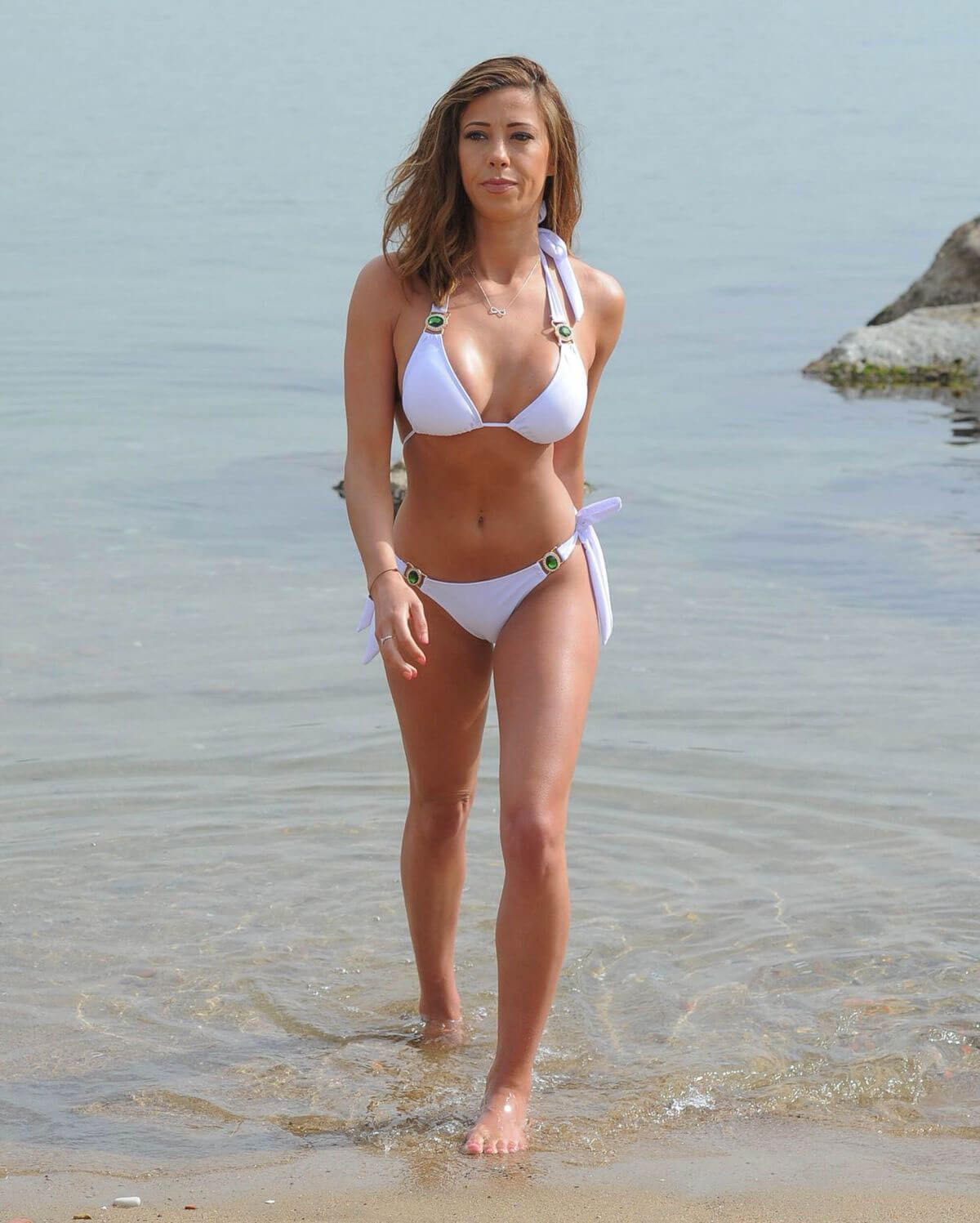 Pascal Craymer Stills In Bikini At A Beach In Tenerife 20180509