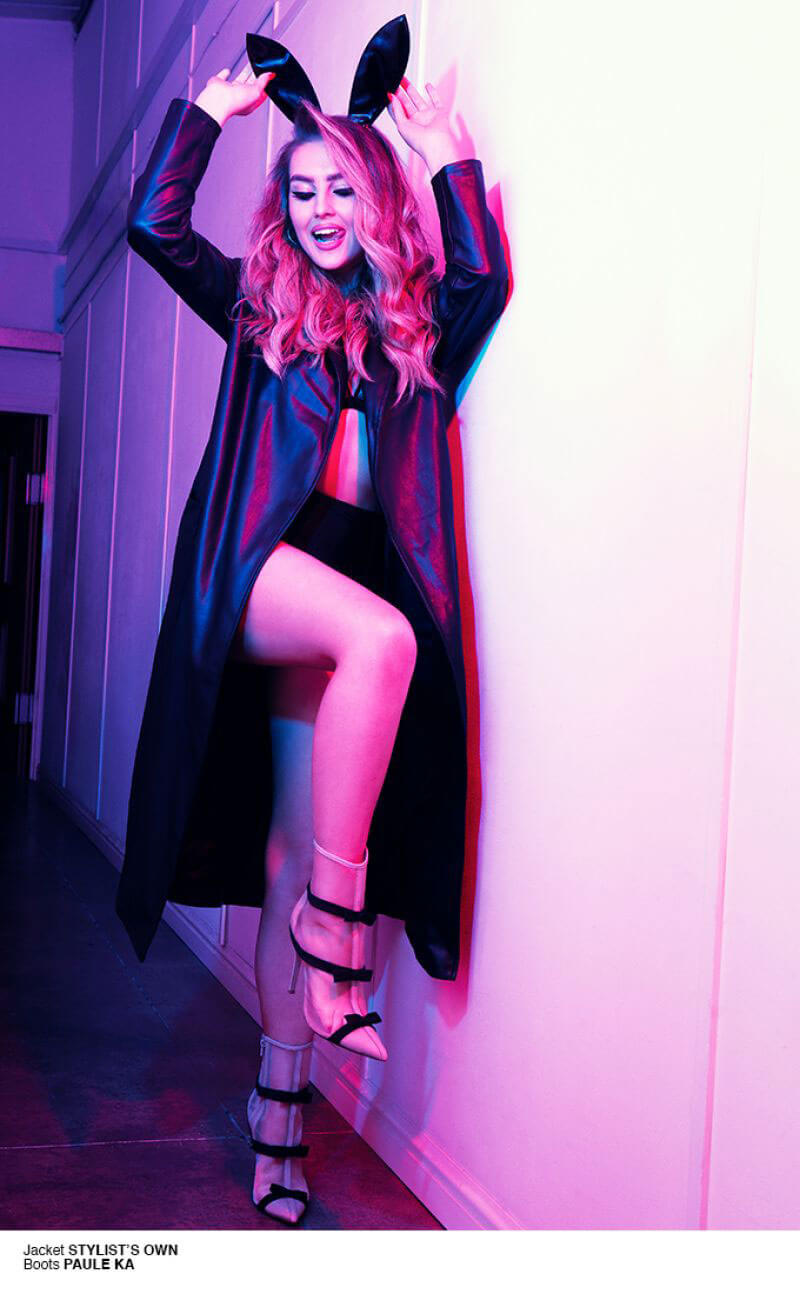 Perrie Edwards Poses for 1883 Magazine, May 2018 Issue 12