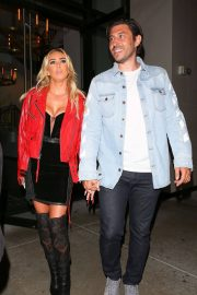 Petra Ecclestone and Sam Palmer at Catch LA in West Hollywood 2018/05/25 9