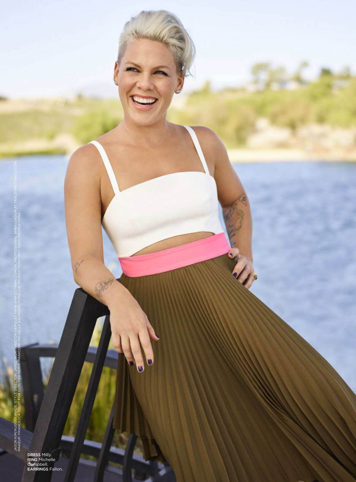 Pink Stills in Redbook Magazine, June 2018 Issue 3