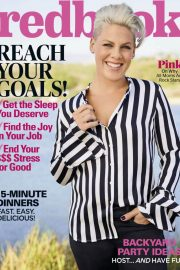 Pink Stills in Redbook Magazine, June 2018 Issue 4