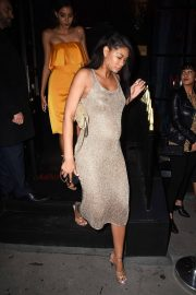 Pregnant Chanel Iman Night Out in London 2018/05/29 3