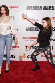 Quinn Shephard and Nadia Alexander at American Animals Premiere in New York 2018/05/29 1