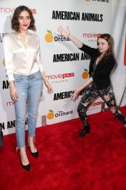 Quinn Shephard and Nadia Alexander at American Animals Premiere in New York 2018/05/29 2