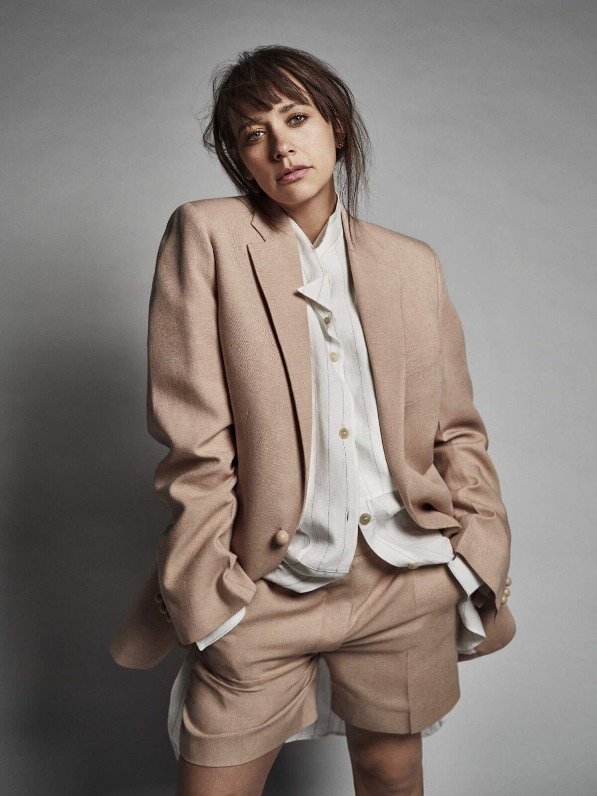 Rashida Jones Poses for Net-a-Porter's The Edit Magazine, May 2018 Issue 5